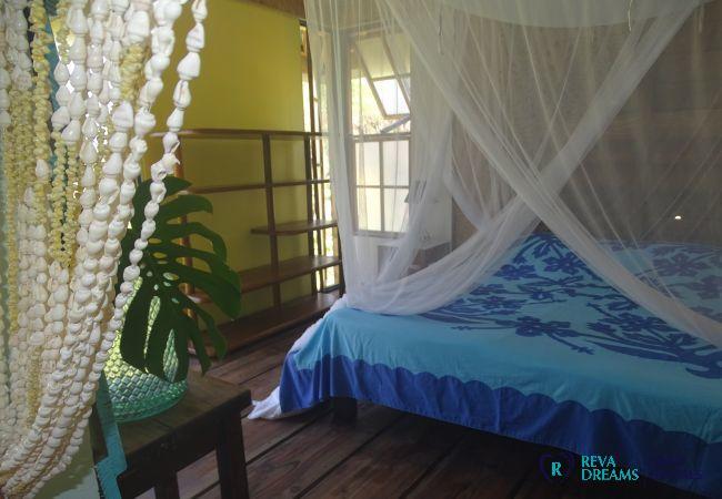 Bungalow à Huahine-Iti - HUAHINE - Motu Bungalow