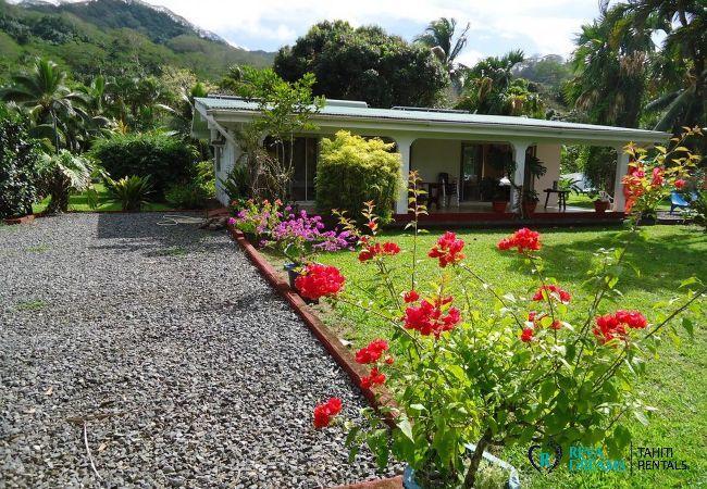 Maison à Huahine-Nui - HUAHINE - Fare Tipanier