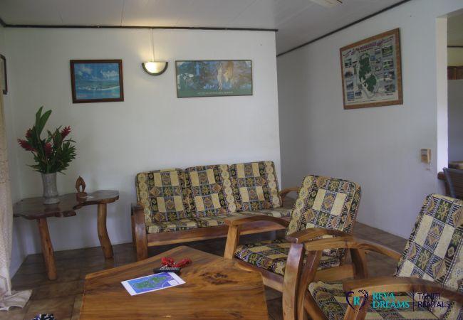 Maison à Huahine-Nui - HUAHINE - Fare Tipanier A/C