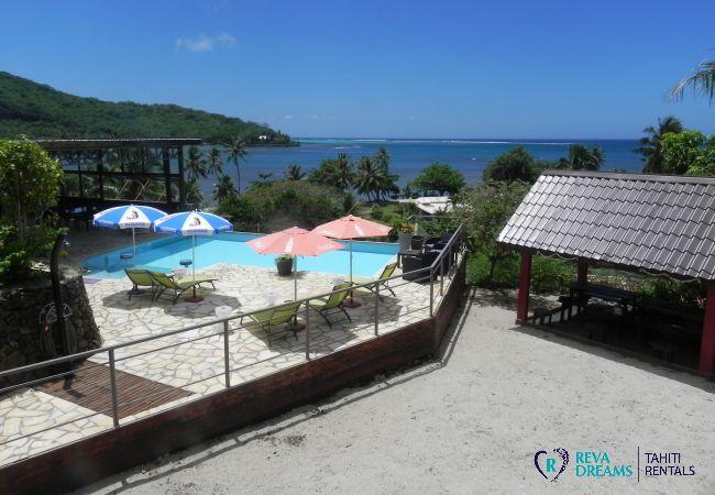 Bungalow à Maatea - MOOREA - Fare Matotea Piti