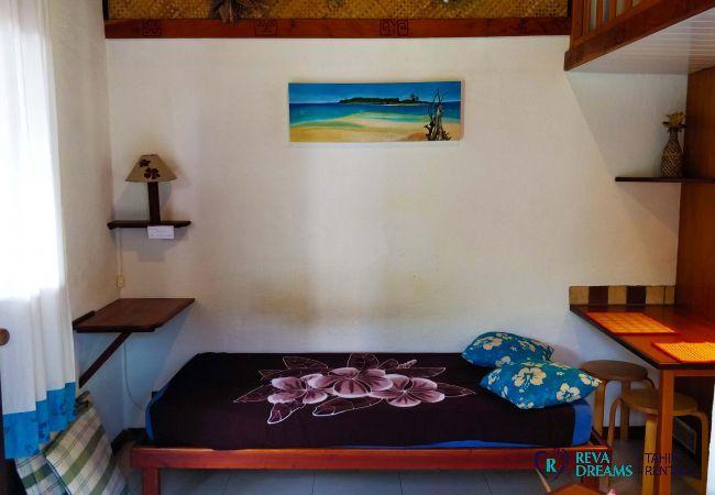 Bungalow à Pihaena - MOOREA - Le Fare Ta'ahiamanu Nui