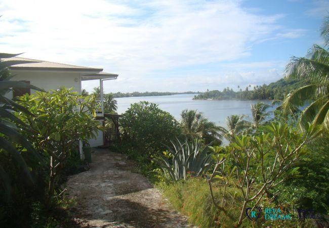Maison à Huahine-Iti - HUAHINE - Apoomatai Bay House