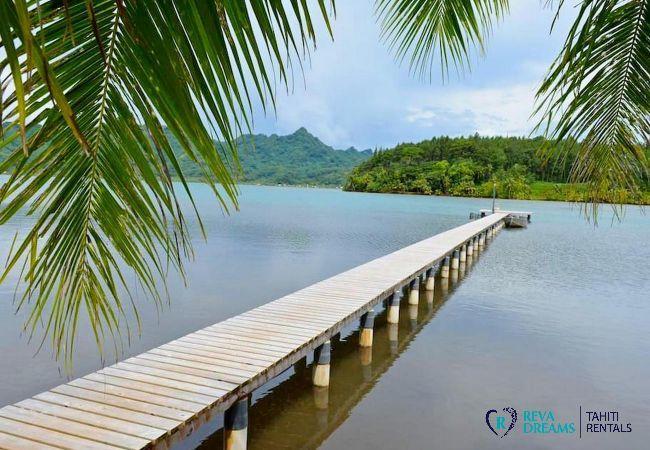 Maison à Huahine-Nui - HUAHINE - Fare Here-Ata Dream
