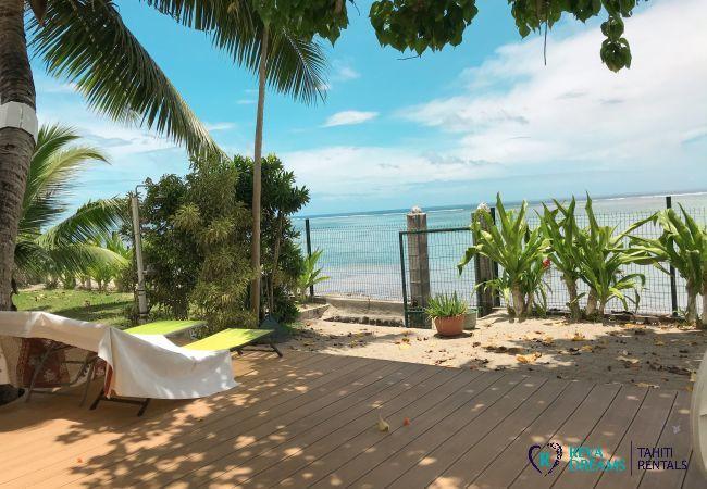 Maison à Paea - TAHITI - Poeheivai Beach